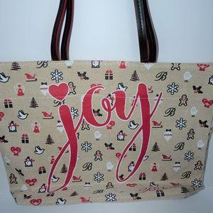 "New Brighton Tote ""Joy"" bag Holiday Seasonal"
